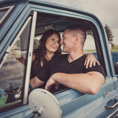 Engagement Photos at Fort Saskatchewan