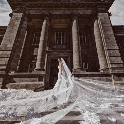 Bridal Portrait in Hamburg