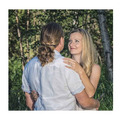 Engagement at Jurassic Forest - Summer Portrait Photos