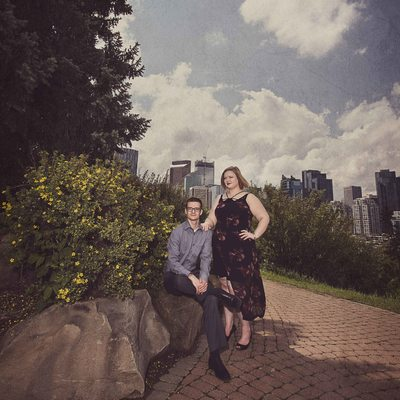 Calgary Rotary Park Summer Engagement Session
