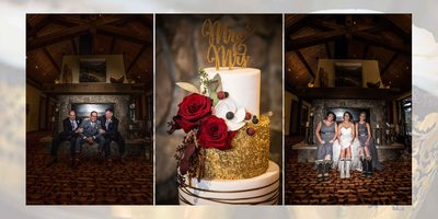 Canmore Winter Wedding Album Indoor Portraits