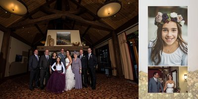 Canmore Winter Wedding Album Formal Portraits