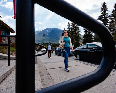 Walking the Streets of Town of Banff