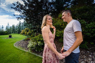 Acreage Engagement Session in Calgary