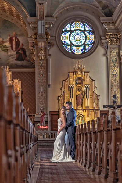 Catholic Church Wedding Portraits