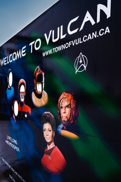 Town of Vulcan Startrek Faces