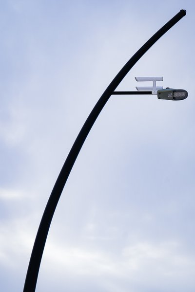 Starship Enterprise Street Lamps in Vulcan