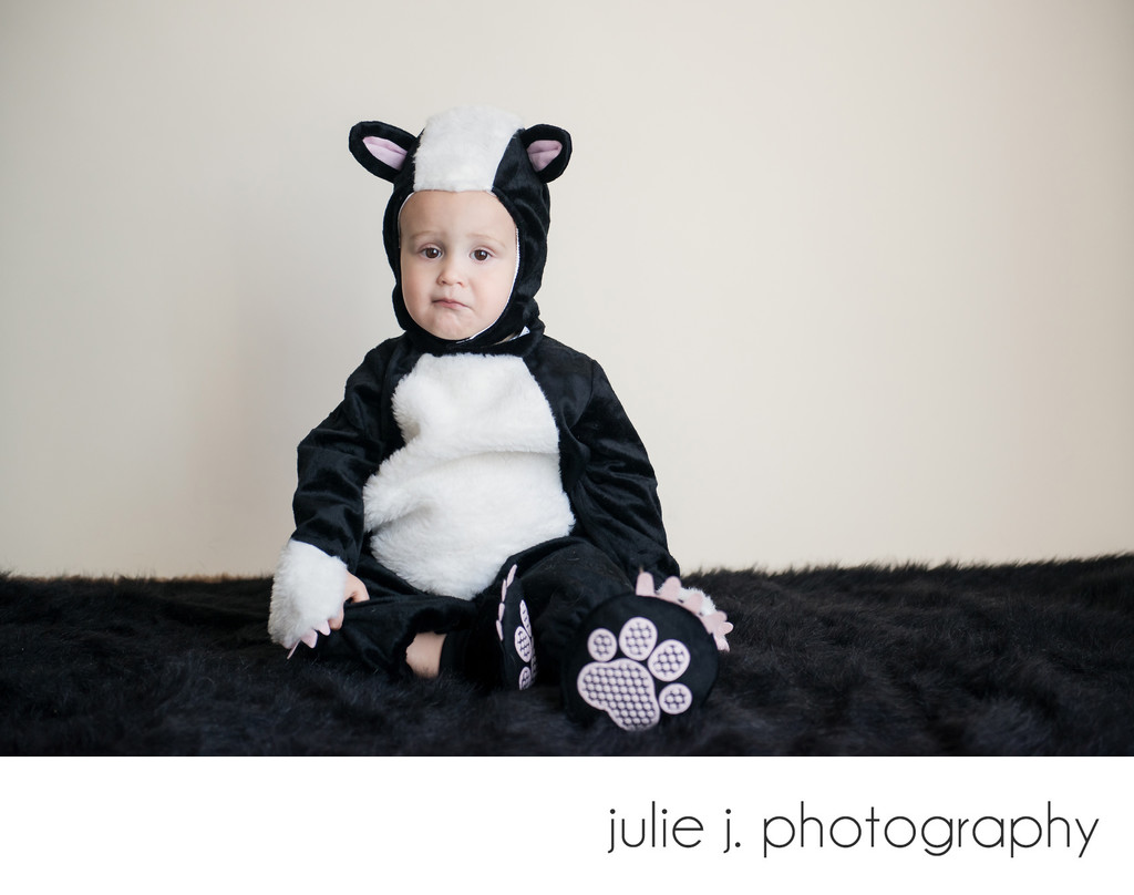 Kids halloween costume portrait photographer