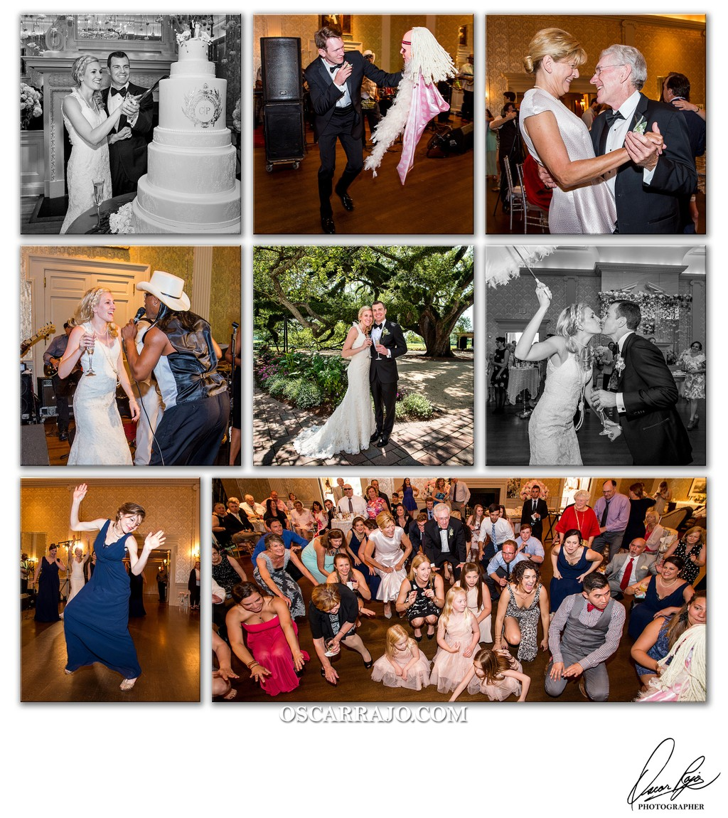 New Orleans Country Club, wedding photographer