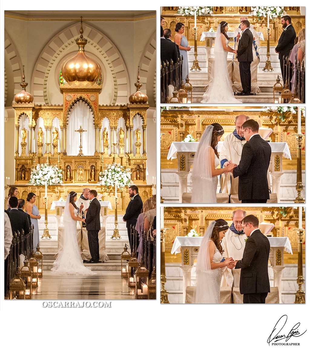Jesuits Church, wedding vows, wedding photographer