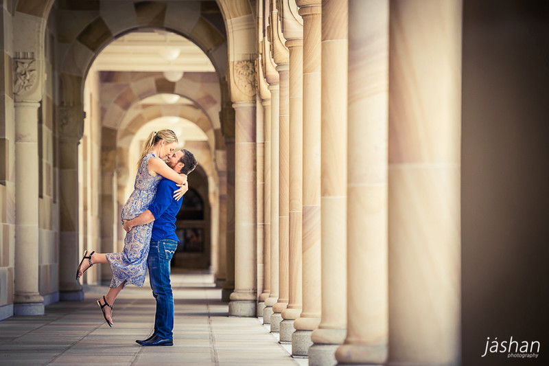 Brisbane Engagement Photography location-UQ-1