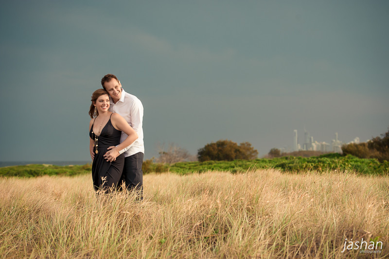 Beach engagement shoot Gold Coast-7
