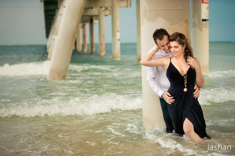 Beach engagement shoot Gold Coast-4