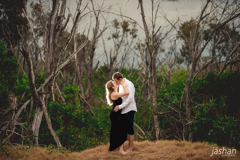Beach engagement shoot Gold Coast-