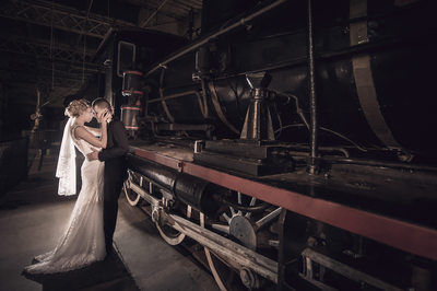 Brisbane wedding photography-workshops rail museum