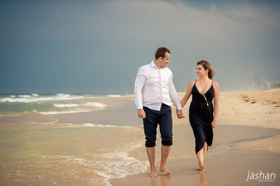 Beach engagement shoot Gold Coast-5