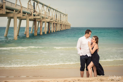 Beach engagement shoot Gold Coast-1