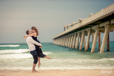 Beach engagement shoot Gold Coast-3
