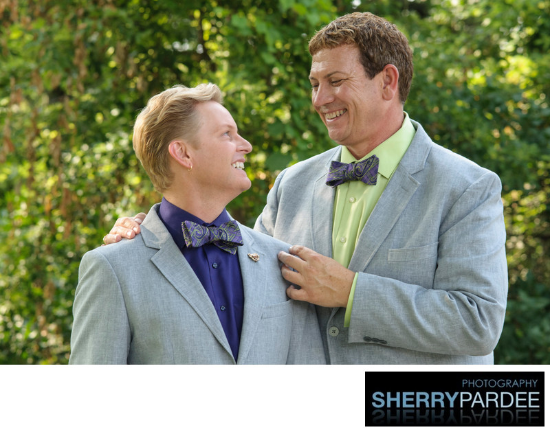 Iowa City Gay Weddings at University of Iowa