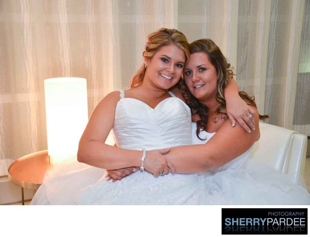 Iowa City Lesbian wedding Photographers