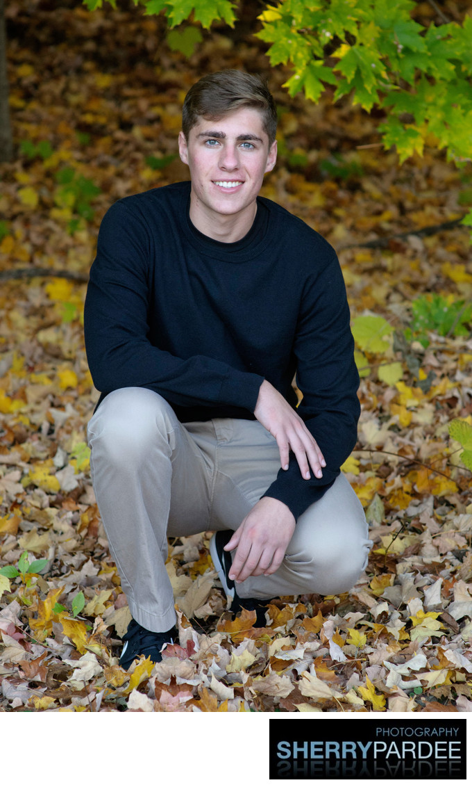 Iowa City Senior Outdoor photos