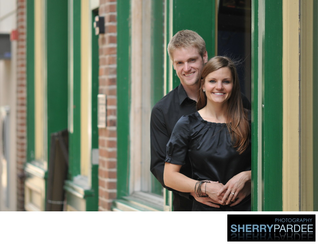 Iowa City Wedding Engagement Photographer