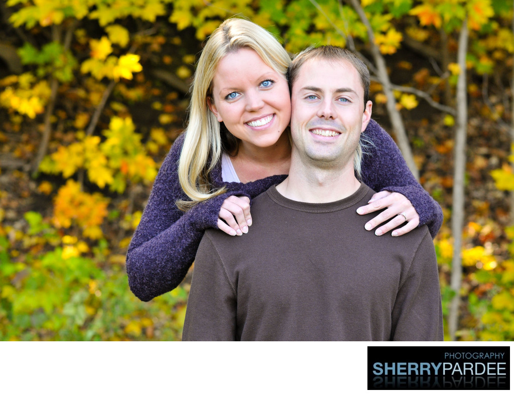 Wedding Engagement Photography in North Liberty iowa