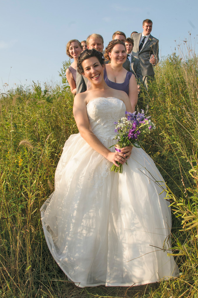 wedding photographers for outdoor weddings Iowa City