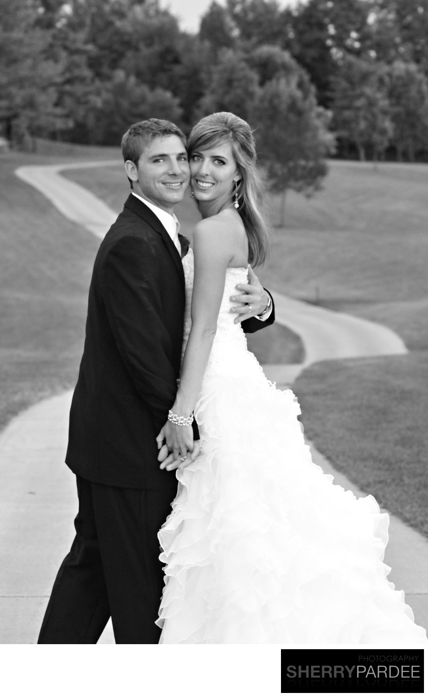 photographers for weddings at Brown Deer Golf course