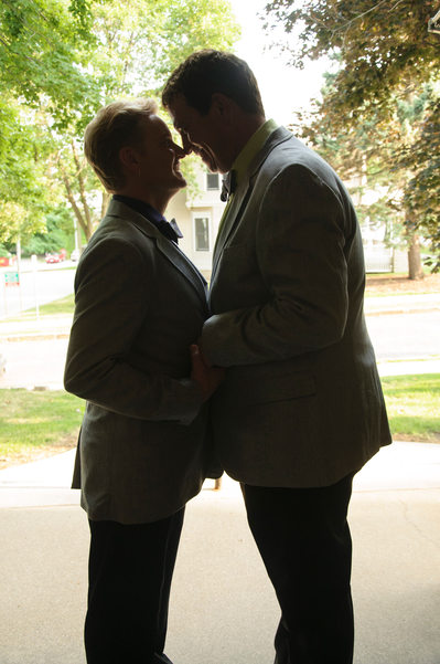 Iowa City Gay Wedding Receptions at Celebration Barns