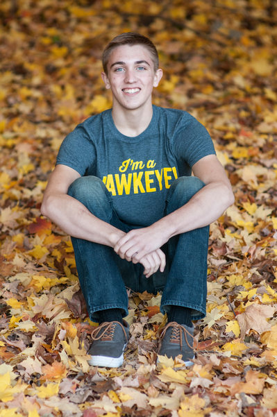 Senior Fall Photos Iowa City Photographers