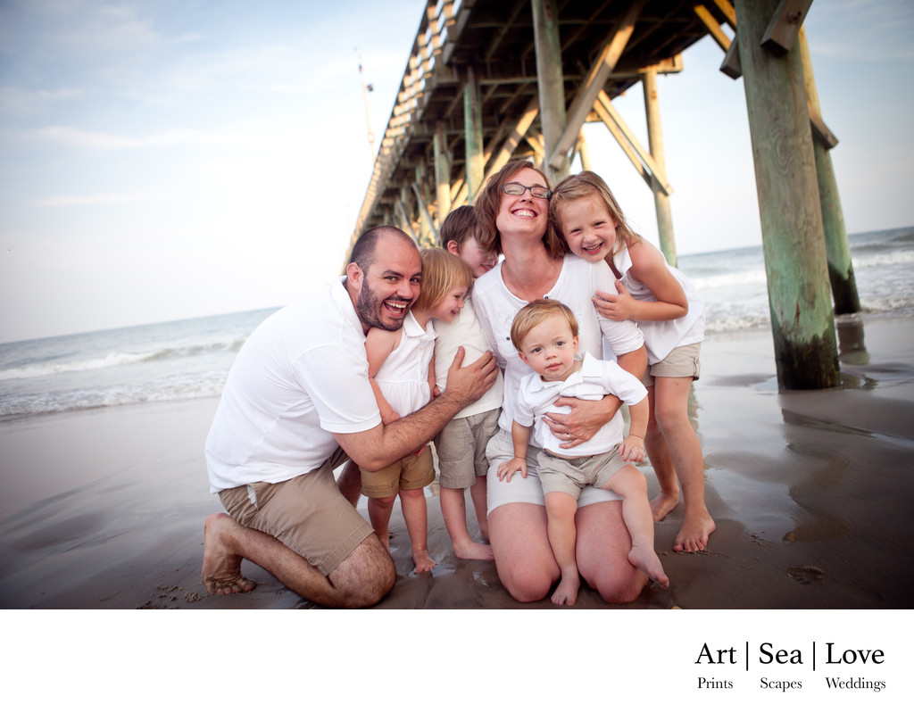 Best Family Photographer Topsail Island Beaches