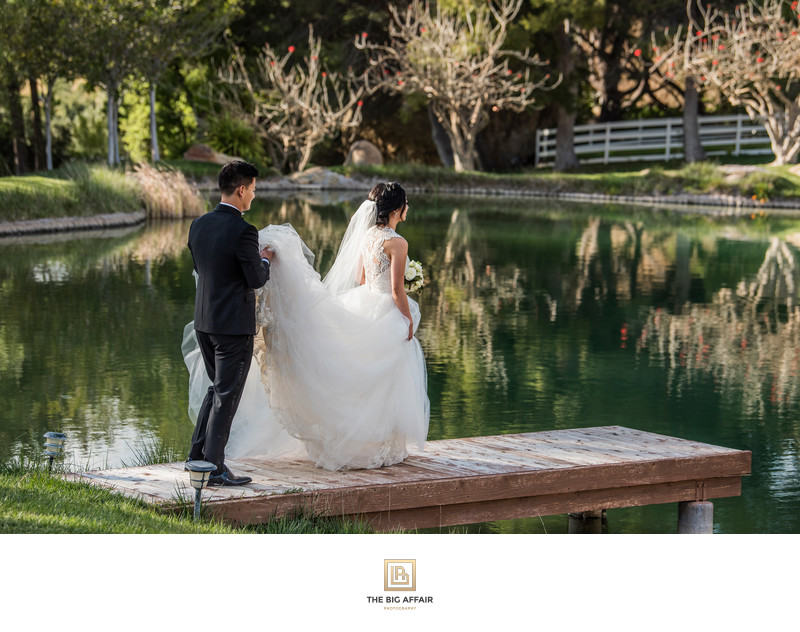 Hummingbird Nest Ranch Wedding - Karen and Joshua