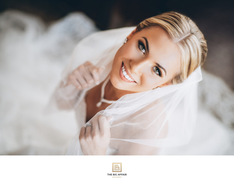 Bridal Portrait by Orange County Wedding Photographer