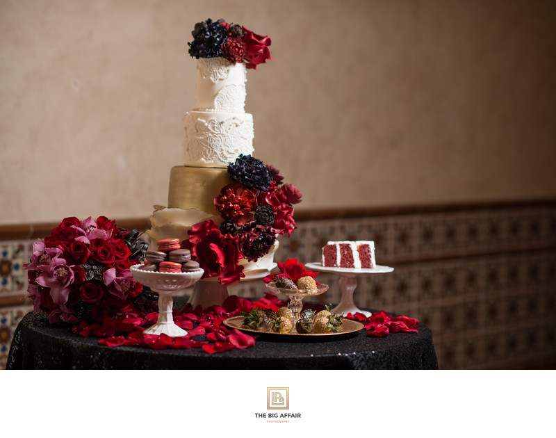 Red velvet - Hollywood Roosevelt Wedding Photography