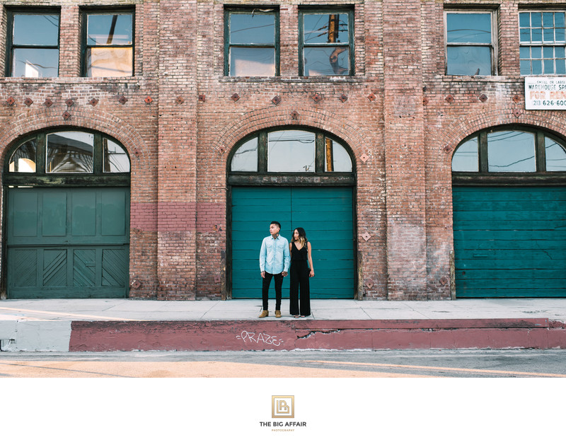 Downtown Los Angeles Engagement image