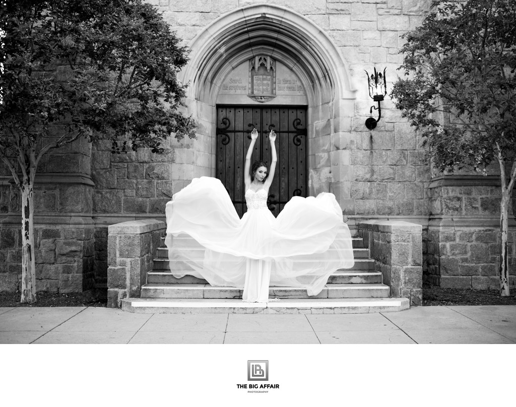 Galia Lahav Bride at Pasadena City Hall