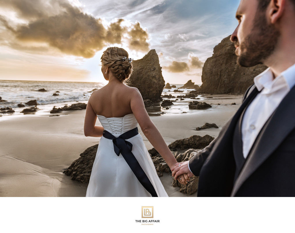 El Matador Beach Wedding Photography
