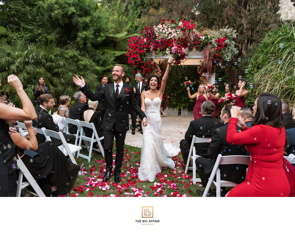 Bel Air Hotel Wedding