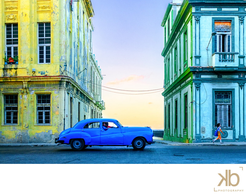 Passing Color Synergy in Havana Cuba