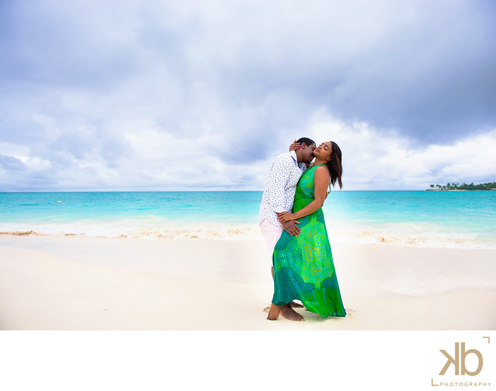 Washing DC Bahamas Beach Engagement Session
