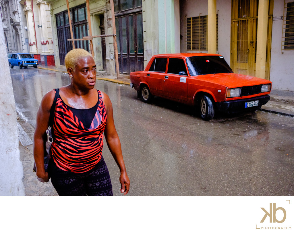 Incidental Color Synergy in Havana Cuba
