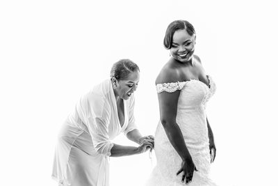 Kazia and Montez Caribbean Wedding in The Bahamas