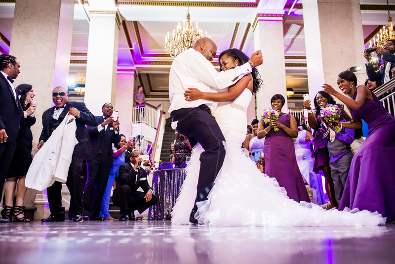 Venetian Room Atlanta Wedding Photographer First Dance