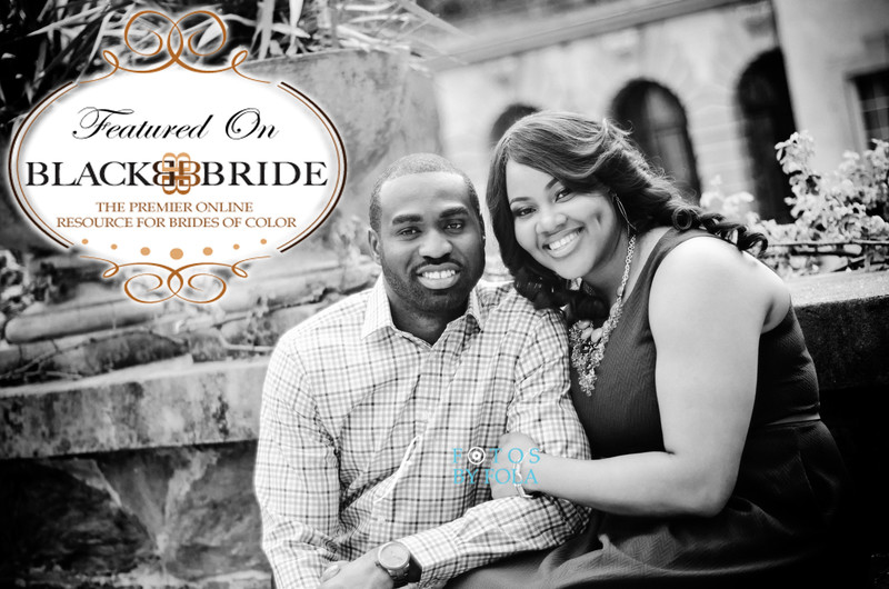 Fotos by Fola Couple Featured on BlackBride