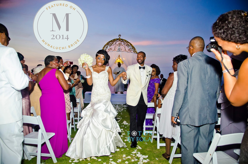 Hyatt Ziva Montego Bay Jamaica Wedding Featured on Munaluchi Bride