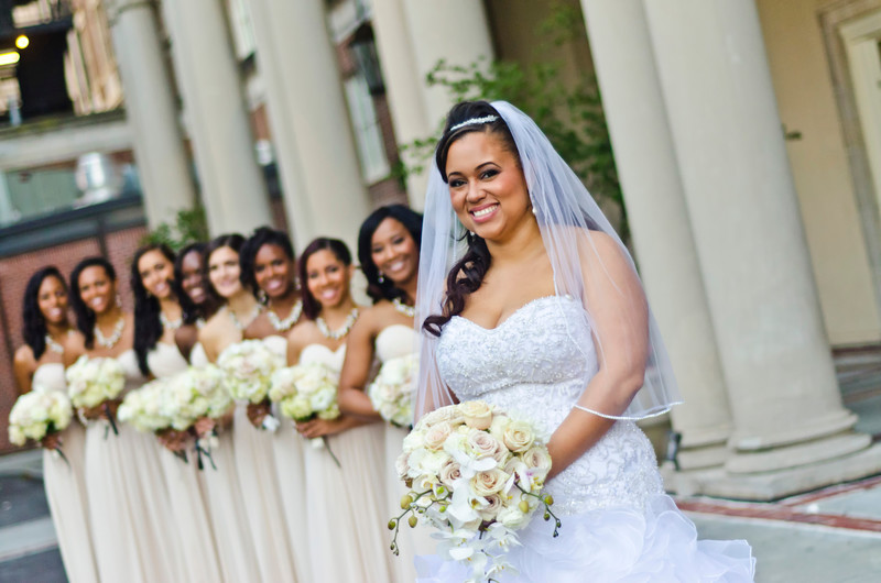 Biltmore Ballrooms Atlanta Wedding Photographer bride and girls