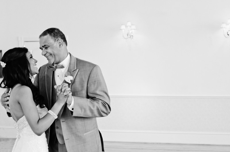 Ashton Gardens Atlanta Wedding Photographer Father bride