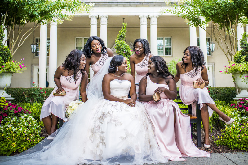Biltmore Ballrooms Atlanta Wedding Photographer bridesmaids