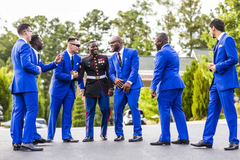 Glendalough Manor Wedding Liberian Wedding Groomsmen-2